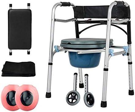 アルミニウムウォーキングエイド高齢者ウォーカー/ウォーキングブラケット/およびシート調整可能な折りたたみ折りたたみウォーカー老人、高齢者のための歩行補助装置