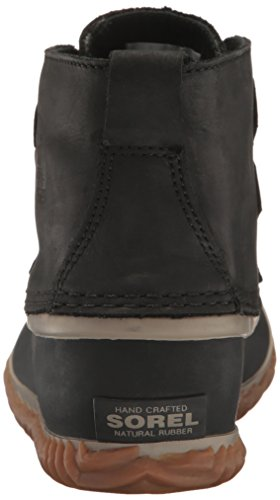 Donna Nero Stivali Leather Chukka Out Sorel N About w7gf0