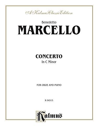 (Concerto in C Minor for Oboe and Piano: Oboe Solo (Kalmus Edition))