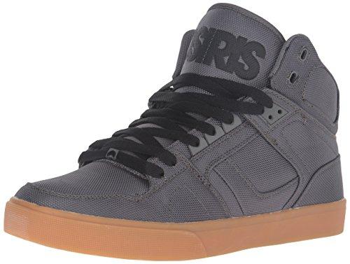 Osiris Men's NYC 83 Vulcanized Skate Shoe - Dark Grey/Gum...