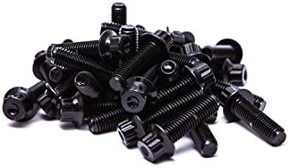 SRR hardware negro Split borde tornillos M7/x 24/mm 10.9/acero HT para BBS RM oz ruedas