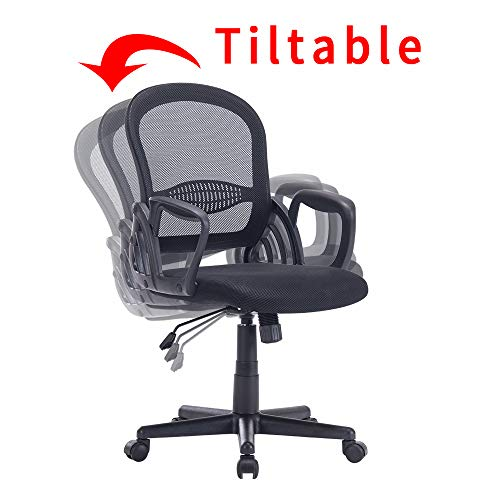 Sidanli Mesh Computer Office Chair-Black