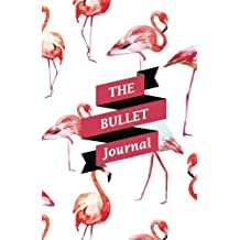 The Bullet Journal: Flamingo Dotted Journal : Paper size (5.5x8.5 inches) - with bullet journal symbols inside