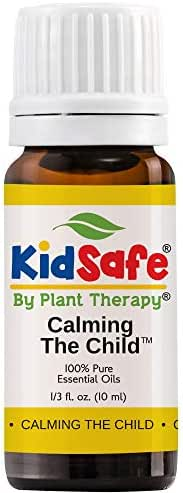 Plant Therapy Essential Oil | Calming The Child Synergy | Relaxing and Soothing Blend | 100% Pure, KidSafe, Undiluted, Natural Aromatherapy, Therapeutic Grade | 10 Milliliter (1/3 Ounce)