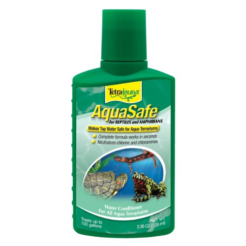 - TetraFauna AquaSafe Water Conditioner for Reptiles & Amphibians 3.38oz
