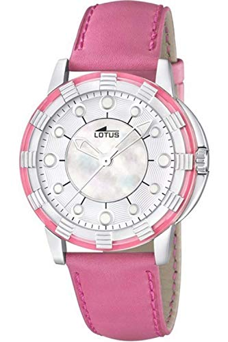 Lotus Glee Womens Analog Quartz Watch with Leather Bracelet 15747/2