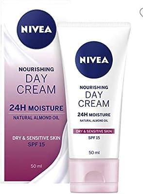 Nivea visage - Crema de día hidratante, pack de 3 (3x 50 ml): Amazon.es: Belleza