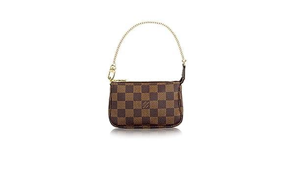 2728cad30f Louis Vuitton Damier Ebene Canvas Mini Pochette Accessoires N58009