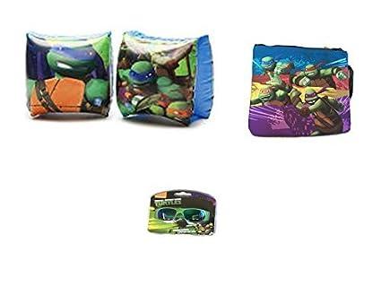 Amazon.com: Teenage Mutant Ninja Turtles cierre bolso de ...