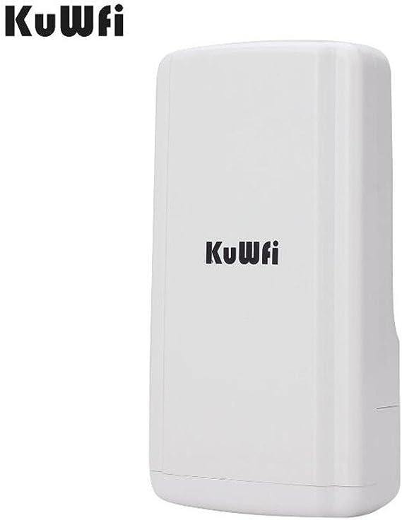 KuWFi 150Mbps Impermeable Inalámbrico Al Aire Libre CPE Super ...