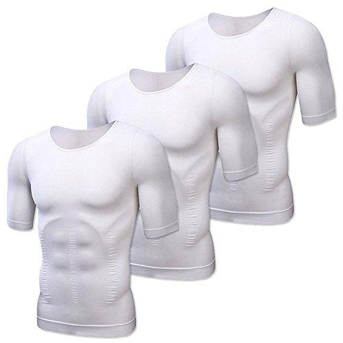 JTRAVEL 가압 셔츠 가압 이너 스포츠 이너 트레이닝 웨어 새우등 자세 교정 다이어트 런닝 Compression 웨어 보정 속옷 짐 기능성 내의 피로 경감