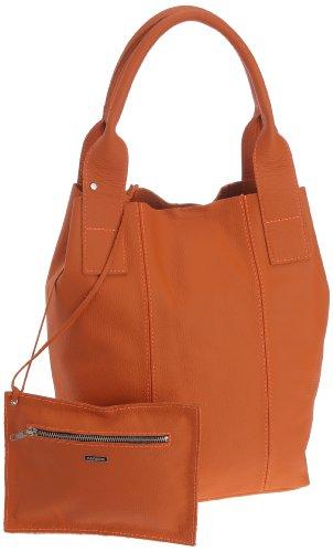 Oakwood 60391 - Bolso de asas para mujer Naranja - Naranja
