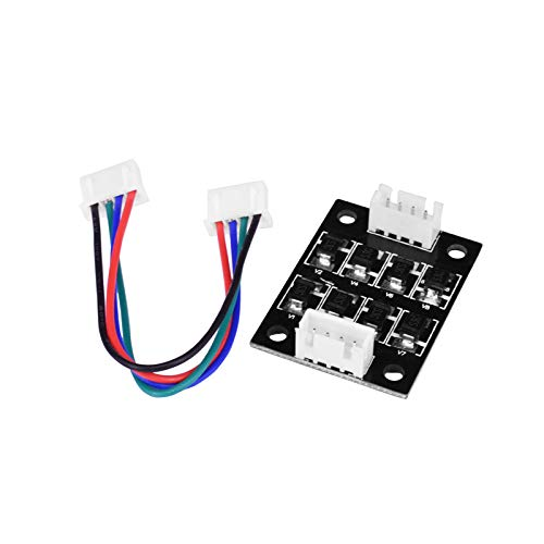 TL Smoother Addon Modules Hotetey 4 Pcs 3D Printer Accessories Filter for Pattern Elimination Motor Clipping Filter 3D Printer Stepper Motor Drivers