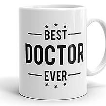 Best Doctor Ever Mug - 11 Ceramic Coffee Mug Gift Ideas For Doctors Hospital Presents