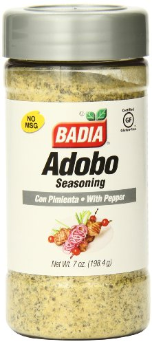 (Badia Adobo with Pepper, 7 Ounce (Pack of 12))