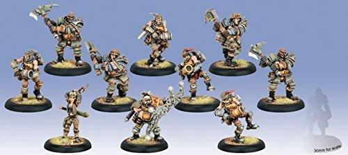 Privateer Press - Warmachine - Mercenary: Sam Machorne and Devil Dogs Model Kit 3