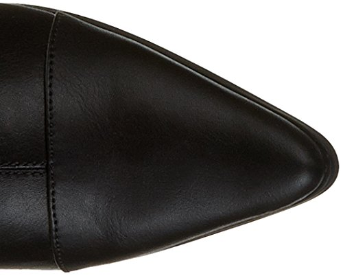 Initiale Souka - Botas clásicas hasta la rodilla Mujer Noir (Noir Stretch)