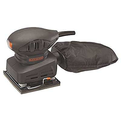 BLACK+DECKER BDEQS15C 1/4 Sheet Sander, 1.5 Amp
