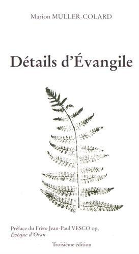 Détails d'Évangile (3e édition) Poche – 4 juillet 2017 Muller-Collard Marion Passiflores 291846984X Exégèse