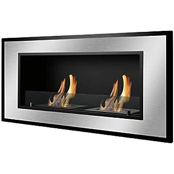 Amazon.com: Ignis Bellezza Recessed Ventless Ethanol Fireplace ...