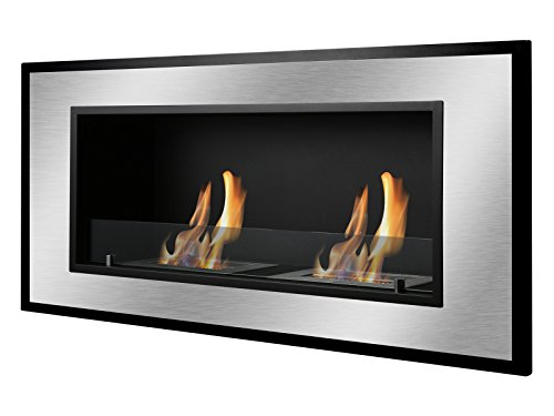 ventless ethanol wall fireplace - 8