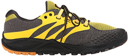 Merrell Out Charge, Scarpe da Trail Running Uomo Giallo (Yellow)