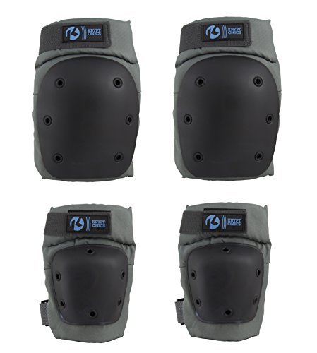 - Kryptonics Pro Battleship Knee and Elbow Pad Set, Large/X-Large