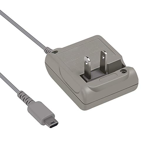 AC Adapter for Nintendo DS Lite Systems Power Charger, Wall Travel Charger Power Cord Charging Cable 5.2V 450mA