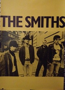 The Smiths Meat Is Murder band photo poster
