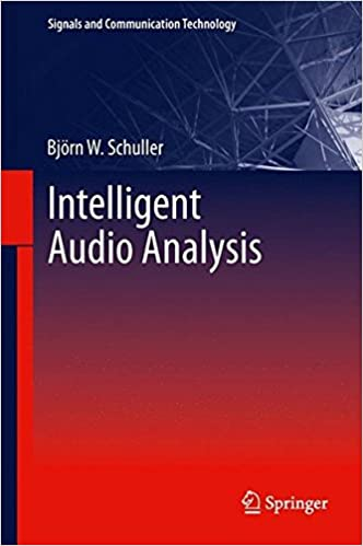 Book Intelligent Audio Analysis (Signals and Communication Technology)
