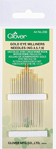 75 Multiple 4 Clover E011 Dome Threaded Bundle Needle Case