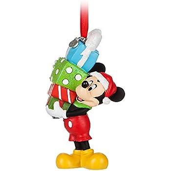 Amazoncom Disney Mickey Mouse Santa Ornament Home  Kitchen