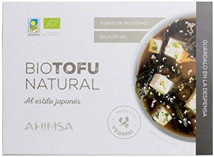 Ahimsa Tofu Natural Bio 350 Gr Vegano