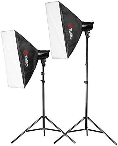 T-180B High Power Panel Digital Camera/Camcorder Video Light Photography Lamp (2 Sets of LED On-Camera Lights)