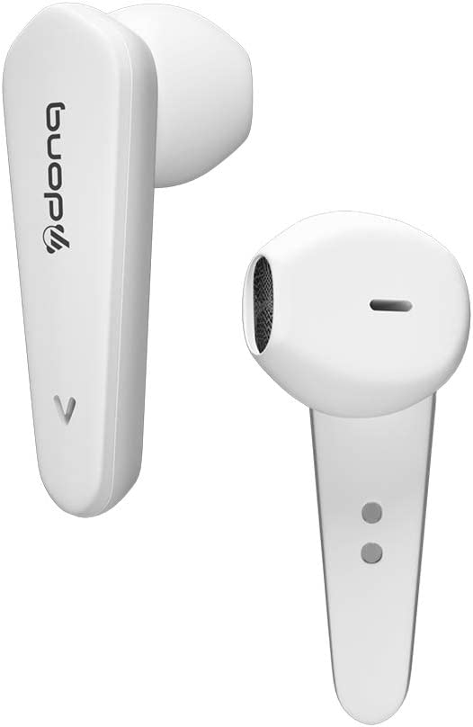 Wireless iPhone Earbuds with ?24Hrs Charging Case? Noise Cancelling Headphones Auto Pairing Fast Charging Super Clear Sound Quality with Deep Bass for iPhone/Android Airpods