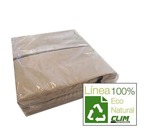 Servilletas ecológicas. Línea Eco Natural de papel 100% reciclado ...