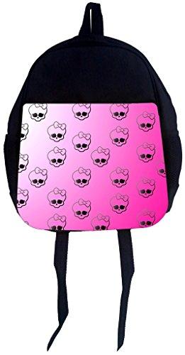 Rosie Parker Inc. PreSchool Children's Backpack- Little Skulls with Bows Print Design - Parker Kids Bows