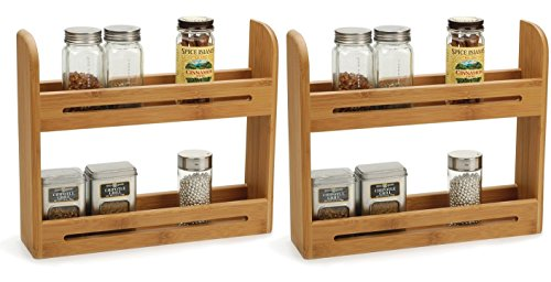 RSVP Endurance Bamboo Spice Rack (Set of Two) Endurance Spice