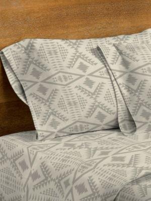 Diamond River Flannel Sheet Set by Pendleton