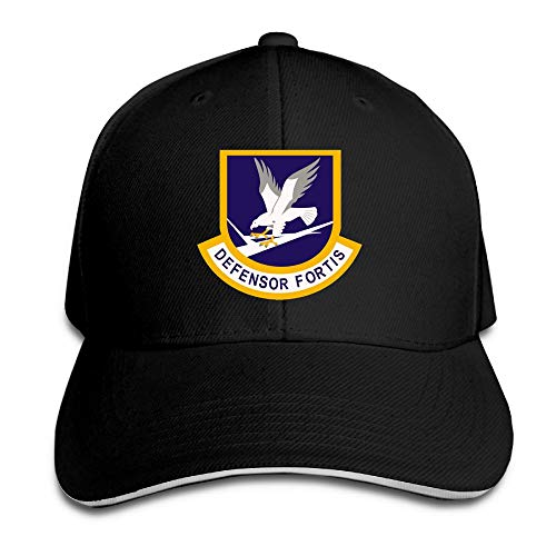 Defensor Fortis Air Force Security Force Men's Baseball Hat Retro Golf Trucker Cap