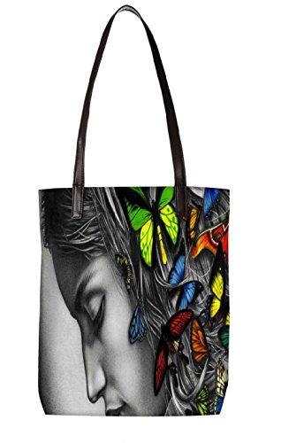 Snoogg Strandtasche, mehrfarbig (mehrfarbig) - LTR-BL-3396-ToteBag
