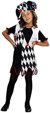 Disfraz de Arlequina para niñas: Amazon.es: Juguetes y juegos