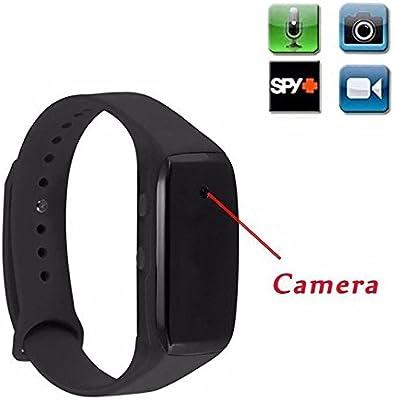 Reloj espía cámara oculta mini DVR Full HD 1920 x 1080 pulsera ...