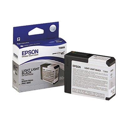 3800 Pro Light (Epson Ink Cartridge For Stylus Pro 3800/3880, Light-Light Black (T580900))