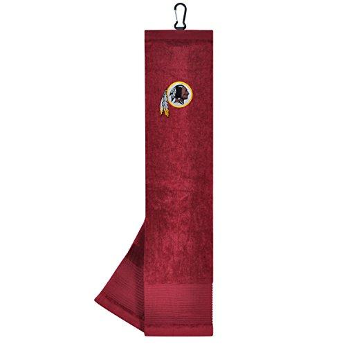 Team Effort NFL Washington Redskins Face/Club Tri-Fold Embroidered (Washington Redskins Football Golf Club)