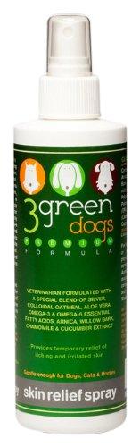 3 Green Dogs Skin Relief Spray 3 Green Dogs Spray, 8 oz