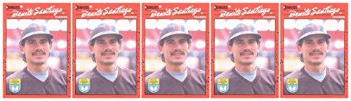 (5) 1990 Donruss Learning Series #4 Benito Santiago Baseball Card Lot Padres