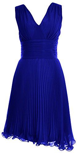 MACloth -  Vestito  - linea ad a - Donna blu 40