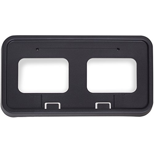 - OxGord License Plate Bracket Front Bumper for 2011-2016 F250 F350 F450 F550 - Replaces BC3Z-17A385-AA Tag Frame Mount Holder