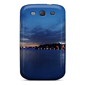 Ultra Slim Fit Hard SaladCases Case Cover Specially Made For Galaxy S3- Zayehrood In Blue